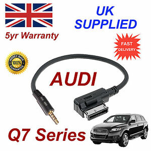 AUDI-Q7-Series-ami-mmi-4f0051510f-Musica-Interfaz-Jack-de-3-5mm-Entrada-Cable