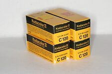 KODAK KODACOLOR II C120 NEGATIVE FILM, NEW IN BOX - LOT OF 4 BOXES