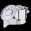 thumbnail 2 - 32QT Stockpot Stainless Steel Stock Pot w/Lid Saucepan Outdoor Gas Cooking Pot