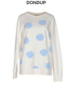 Line Dondup Sweatshirt Limited Large Pattern Sky Blue Dot Oversize Topgt; OkPXZiwuTl