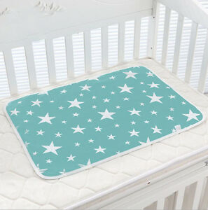 974e6a55b3a Image is loading Newborn-Baby-Changing-Pad-Infant-Cotton-Nappy-Cover-