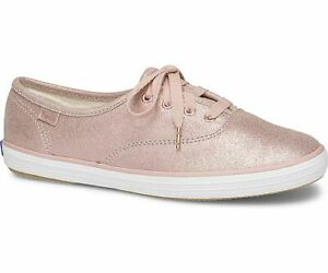 001ebc8dff9d7 Image is loading Keds-WH58932-Women-039-s-Champion-Glitter-Suede-