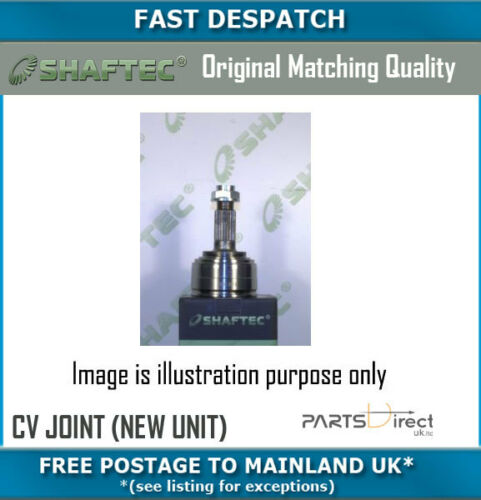 NEW UNIT FOR SEAT LEON 1.6 02//10-12//13 CV1026N 8065 OUTER CV JOINT