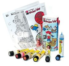Marabu Fun & Fancy Peelable Glass Painting Set for Art & Craft - Pirates World