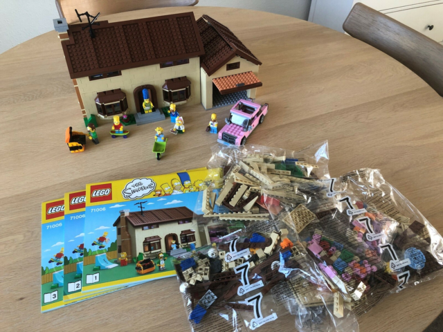 Lego Exclusives, The Simpsons House 71006, The Simpsons…