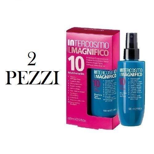 INTERCOSMO Il Magnifico 10 Maschera Spray Intensiva 150ml 2PZ