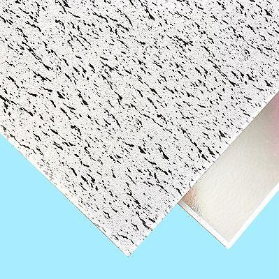 600mm x 600mm 6Tiles//Box Fancy Suspended Ceiling Tiles Vinyl EasyClean Wipeable