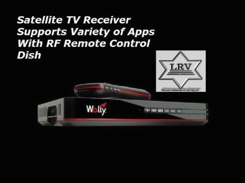 Dish Satellite TV Receiver; Supports Variety Of Apps With RF Remote Control New