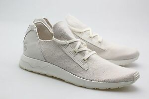 fb9ac8c9a Adidas Consortium x Wings And Horns Men ZX Flux Primeknit white off ...
