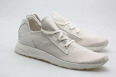 on sale 8c78e 9a38a Adidas Consortium x Wings And Horns Men ZX Flux Primeknit white off white  BB3752 | eBay