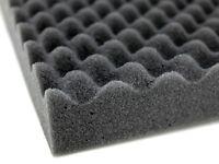 2 Large Acoustic Foam Sound Treatment Tiles Studio Room Sound Proofing 1m² 20mm