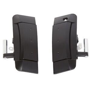 Left And Right Outside Exterior Black Door Handles For 2003 2009 Nissan 350z Ebay