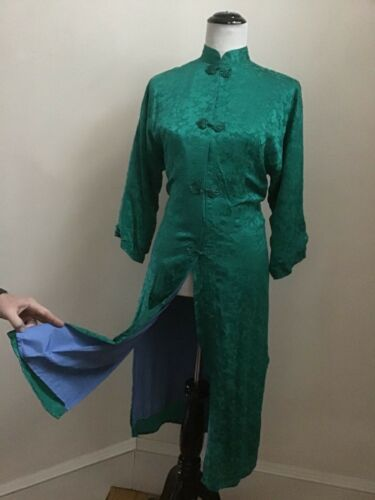 Vintage Silk Asian Gump's Robe EVC - Size S