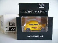 Hot Wheels Mattel 1993 Classic Limited Edition 25th Fat Fender '40 Real Riders