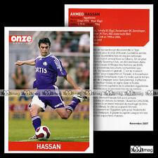 HASSAN AHMED (RSC ANDERLECHT) - Fiche Football / Voetbal 2007