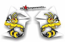 SKI DOO REV XP SNOWMOBILE SLED GRAPHICS DECAL STICKER KIT SIDE PANEL KILLER BEE