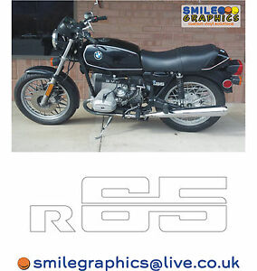 BMW R MOTORCYCLE SIDE PANEL LOGOS BADGES STICKERS DECALS EBay - Motorcycle custom stickers and decals uk