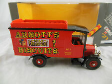 Corgi 859/3 Thornycroft Box with roofrack Arnotts's Biscuits