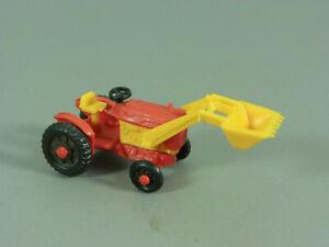 Coches-Tractores-Di-Ue-1978-Pala-Cargadora-Rojo-Amarillo
