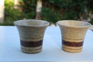 Pair-Pottery-Craft-USA-Pots-Vintage-Vases-Mid-Century-Stripes-3-034