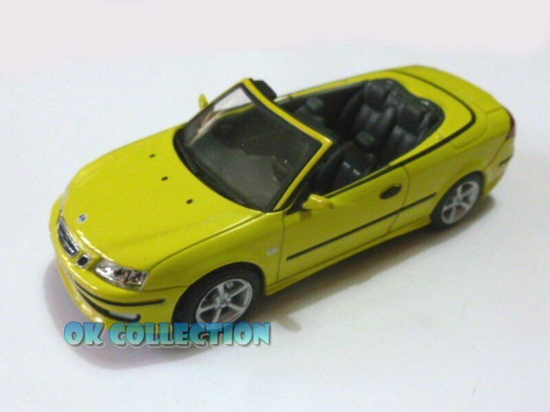 1 43 SAAB 93 CABRIOLET 2003 gituttio Coloreee  by GRANI & PARTNERS NO scatola