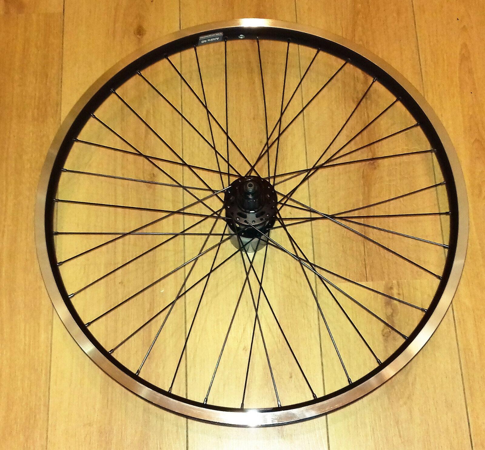 26 inch Ryde Andra 40 Rim, Shimano Deore XT M756 Hub Rear Wheel; Touring, Ebike