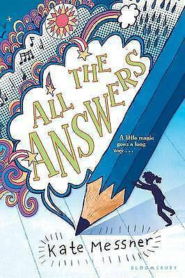 1 of 1 - All the Answers by Kate Messner .VGC