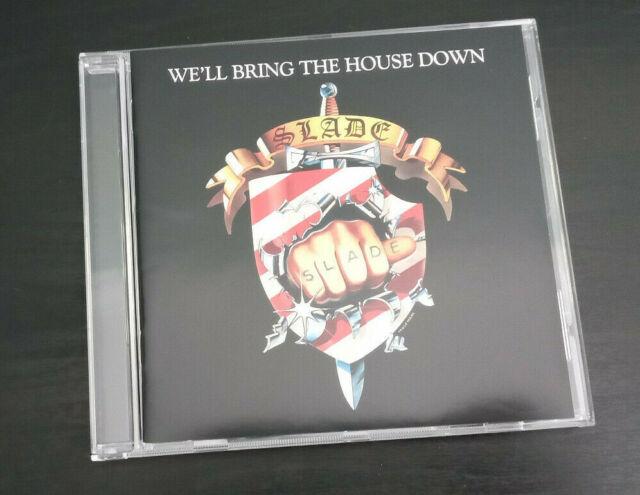 CD ALBUM - SLADE - WE'LL BRING THE HOUSE DOWN
