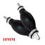 2 × Fuel Pump Line Hand Primer Bulb All Fuels 10mm for Marine Boats Rubber Metal