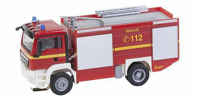 precio mas barato FALLER Coche System MAN TGS TLF Fire Fire Fire Engine VI HO Gauge 161599  entrega gratis