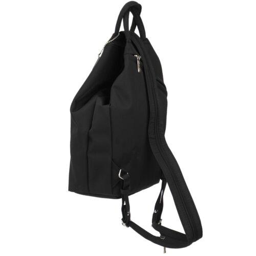 PICARD kleiner Damen Rucksack Tasche Stoff Schultertasche 3x Reißverschluss Fach