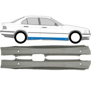 BMW-3er-E36-Limo-und-Kombi-1992-1999-Voll-Schweller-Reparaturblech-Paar