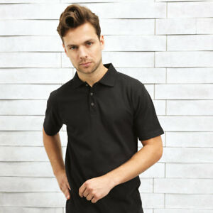 Camiseta-Polo-Para-Hombre-Premier-Stud-PR610-Peso-Pesado-Camiseta-Polo-Manga-Corta-Top