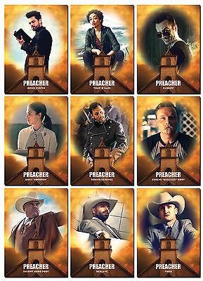AMC PREACHER Season 1 - 10 Card PROMO Set