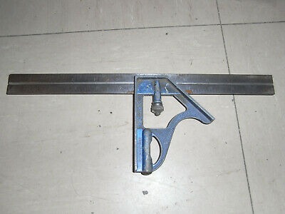 COMBINATION SQUARE 150mm Stainless Steel SUPERCRAFT