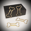 1x Paper Clip Knochen Dog Bone Filofax Büroklammer Paperclip Today Marker