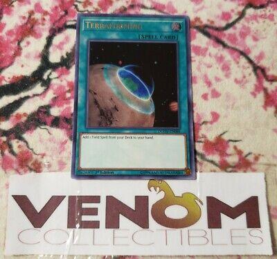 NM Yu-Gi-Oh! Terraforming DUOV-EN088-1st Edition 1x