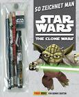 So zeichnet man Star Wars The Clone Wars von Bonnie Burton (2013, Taschenbuch)