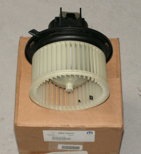 Jeep Motor Blower With Wheel Jeep Part Number CBA1G032 New Genuine Part