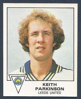 PANINI FOOTBALL 80 #178-LEEDS UNITED-KEITH PARKINSON