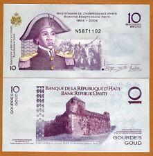 Haiti, 10 Gourdes, 2014, P-272f, Commemorative, UNC