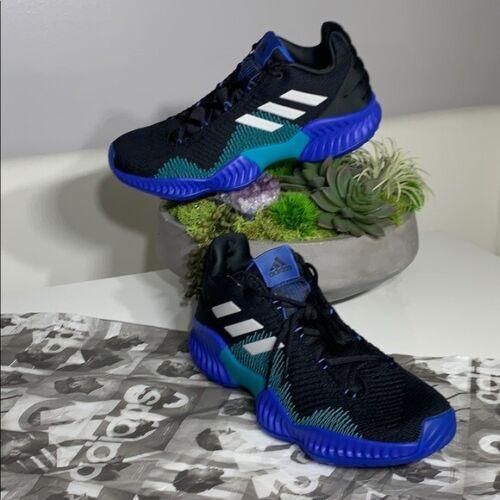 Nero 10 Nwt Low da Sneaker Sz 5 Bounce basket Teal Adidas Pro 2018 Blu 4ARjL5