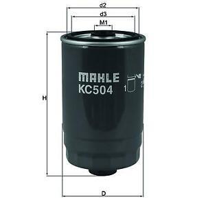Mahle-Fuel-Filter-KC69-Fits-Audi-Volvo-VW