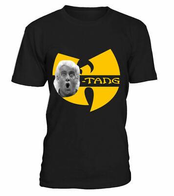 Ric Flair Wu Tang Woo Chain Parody Wrestling Hip Hop Fan 2 T Shirt Birthday Gift
