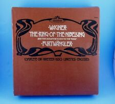 Wagner Ring of the Nibelung Seraphim Guide Furtwangler 19 Record Boxed Set