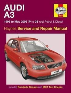 haynes audi a3 8l 96 03 se sport s line owners service repair rh ebay co uk audi a3 8l service manual audi s3 8l manual