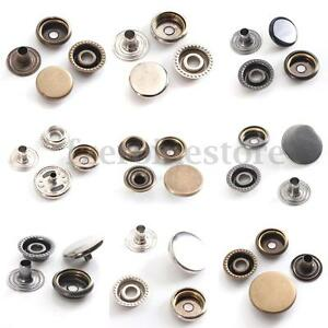 15-30-Sets-15mm-Snap-Fasteners-Press-Studs-Poppers-Sewing-Buttons-Leather-Craft