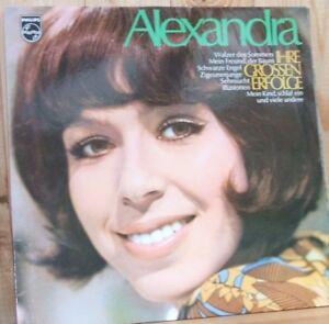 Alexandra-alte-Schallplatte-von-Philips