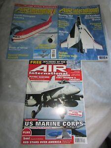 LOOK-3-x-Brilliant-AIR-INTERNATIONAL-Magazines-1998-9-2007-BOEING-717-Free-P-P