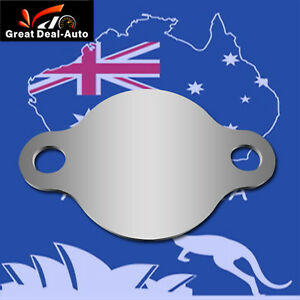 Details about EGR Block Plate For Patrol Navara 3 0L CRD Common Rail  stainless steel